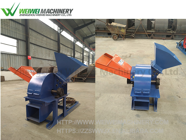 Weiwei snail farming wood chipper chips block hot press machine