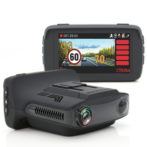 2.7 inch Russian Language Car DVR Camera Radar Detector Gps 3 in 1 LDWS HD 1080P Video Recorder Dashcam