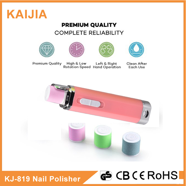 battery powered nail file manicure kit nail buffer-Source quality ...