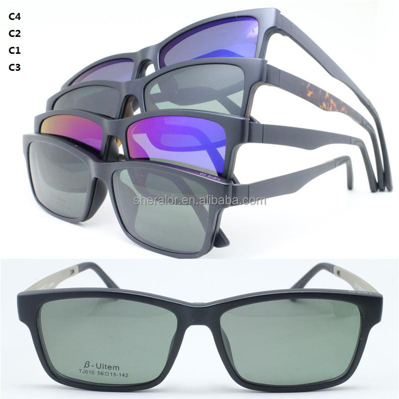 Gota ventas 010 completo ultem gafas de sol del marco óptico ...