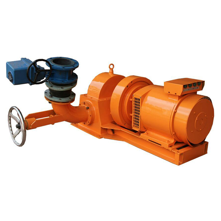 Automatic detection system brushless excitation generator high efficiency low lift 50kw micro hydro turbine
