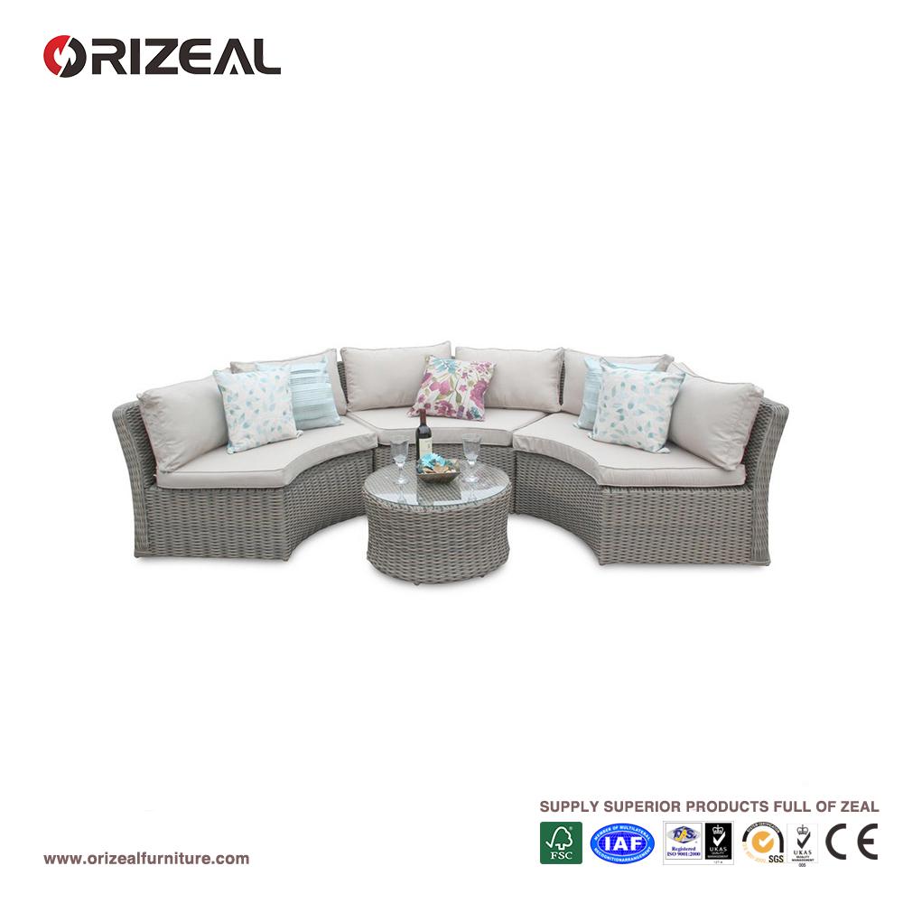 Venta al por mayor muebles de jardin de mimbre baratos-Compre online ...