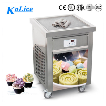 large capacity frozen fry ice cream making machine commercial
