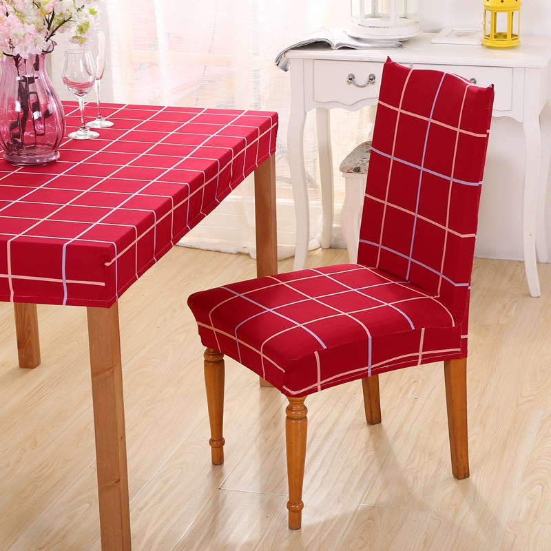 Online Get Cheap Red Chair Covers Aliexpress Com