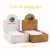 Pop up Custom biodegradable lip balms Arched packaging Displayboxes