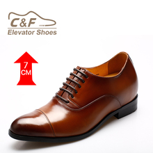 wholesale Men elevator shoes made of quality leather shoes for mens