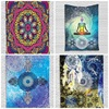 Decorations On The Wall Colour Love Louts Floral Art Hangings Dreamcatcher Cross Tapestry Wall