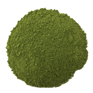 Concentrated liquid green tea powder flavoring for bakery