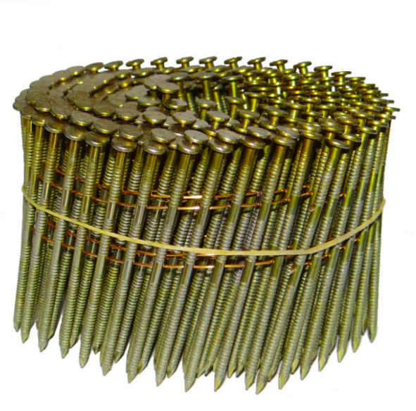 15 Degree 50mm High Quality Pallet Iron Coil <strong>Nails</strong> With Different Diameters