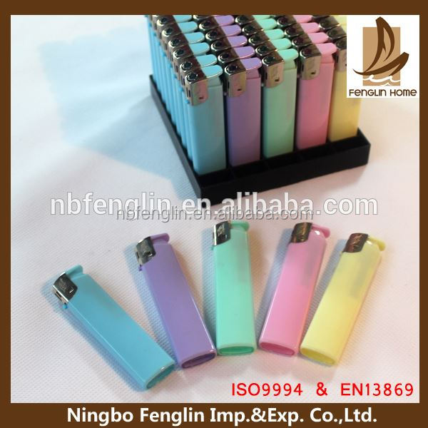 Alibaba China Supplier Half Transparent Colourful bbq Lighter
