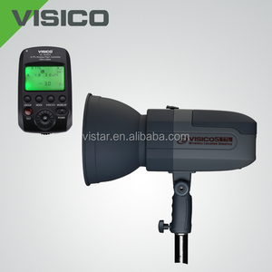 Studio flash professional studio flash studio light high speed 1/8000s high sync speed Portable VISICO 5 400W battery