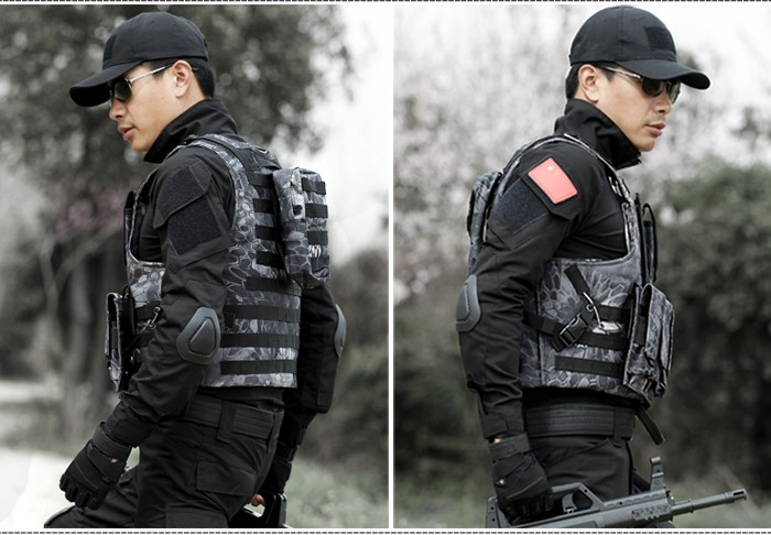 Pouches Lightweight Waterproof Army Vest