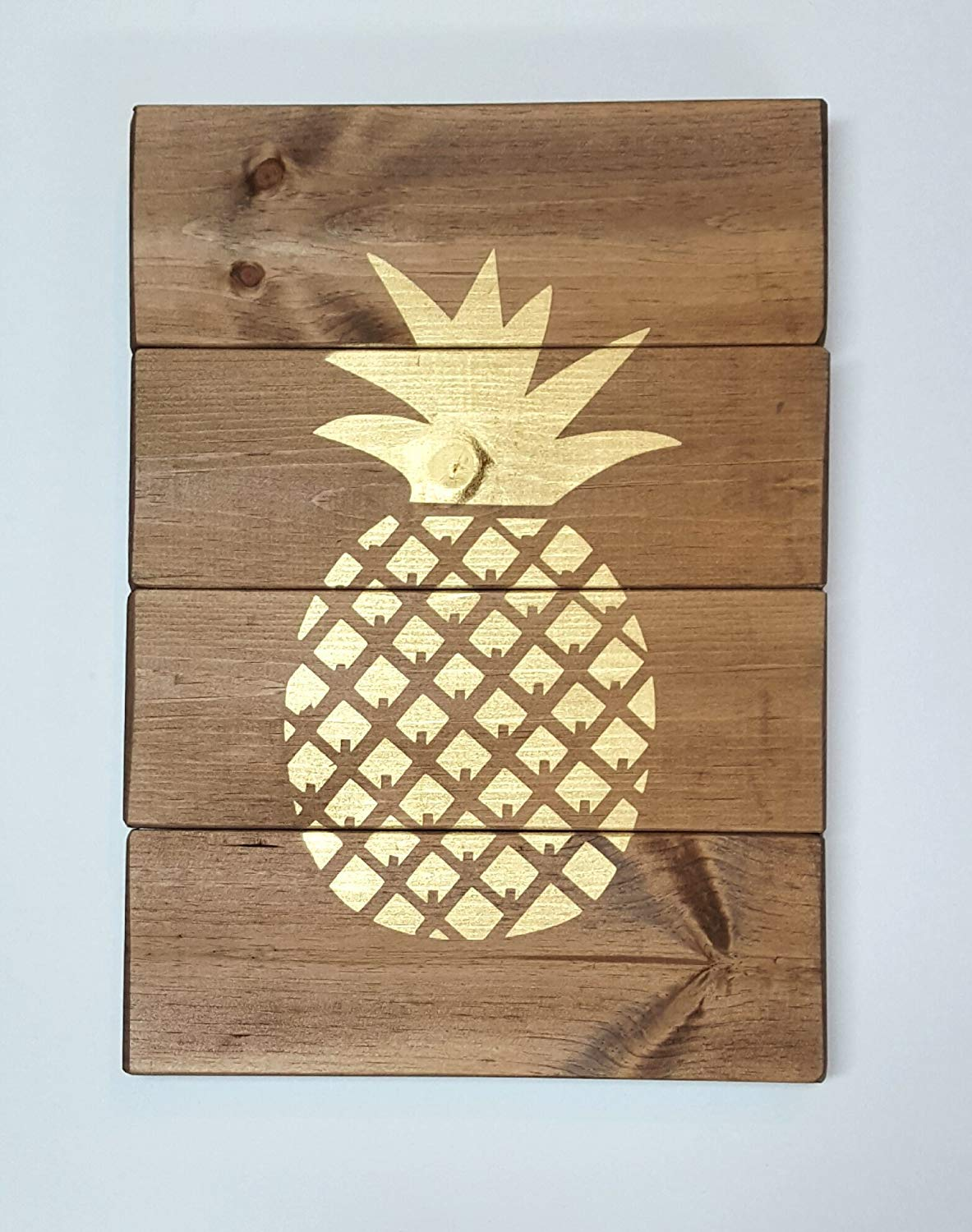 Rustic pallet pineapple wood sign, Wooden signs for home, Wood beach signs, Beach wall art, Wood pineapple, Rustic sign for home, Housewarming sign, Welcome sign wood, Country home decor