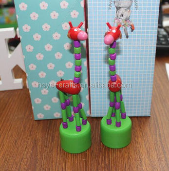 Buy Marioneta marioneta Niños Navidad De Empujar empuje Juguete Juguetes Muñecas Empuje Bailando Muñecas Madera xBQrCeWdoE