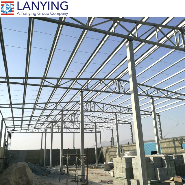 Light Weight Prefab Two Story Steel Structure Building Warehouse