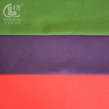 40S Polyester Cotton Textile Fabric interlock Combed cotton & spandex Combed fabric cotton textile