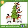 Funny snowman decorate christmas tree christams ornaments custom
