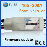 16S 300A controller and water-cooling brushless motor for ESC rc boat