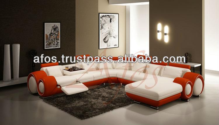 U Vorm Leren Bank.Afos 100 U U Vorm Leren Bank Gestoffeerde Sofa S Product