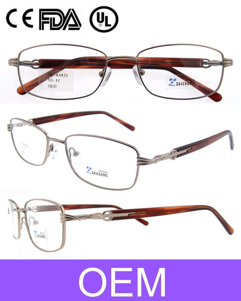spectacle frames edhk  Hot 2015 Latest Model Spectacle Frame Metal Eyeglasses Frame Hot Women  Optical Eye Glasses Frames