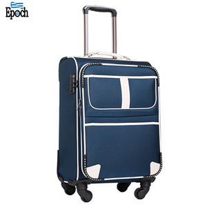 2018 latest fashion top design waterproof ergonomic suitcase trolley bags