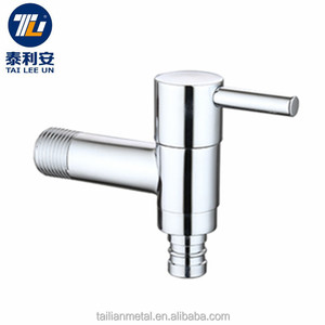 Brass Washing Machine Wall Mounted high basin tap single outlet faucet