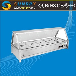 Commercial Kitchen Buffet Equipment Keep Warm Table Hot Food Display Warmers for Food Delivery