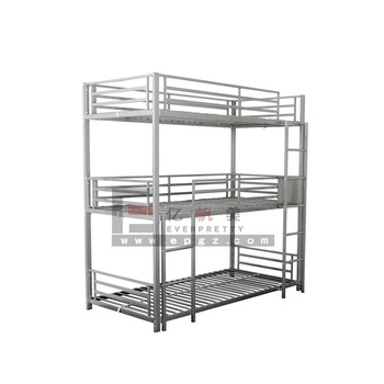Cheap Metal Triple Bunk Beds Sale Indian Bed Sheets 3 Tier Bunk Bed