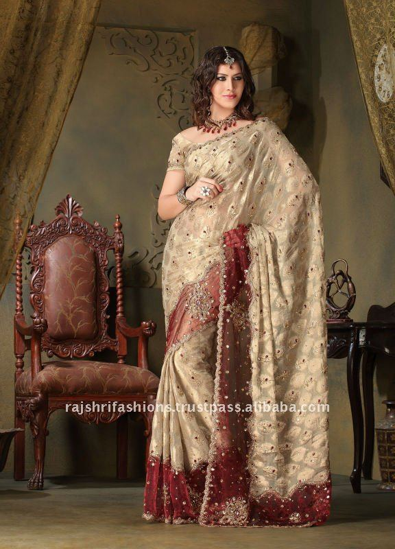 designer wedding sarees buy designer wedding sareesexclusive designer sareeshandwork designer sarees product on alibabacom