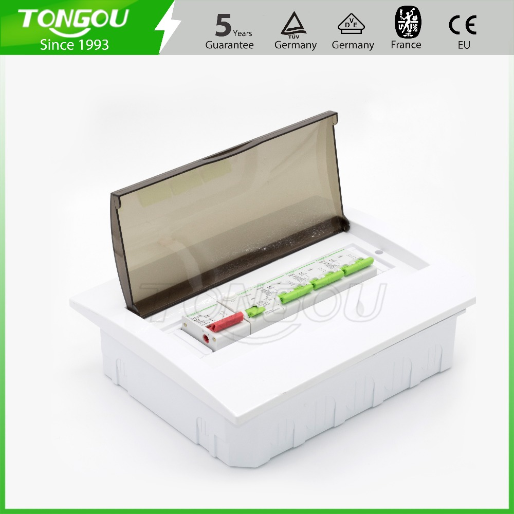 12 way Metel PC Consumer control unit MCB Box electrical distribution Box