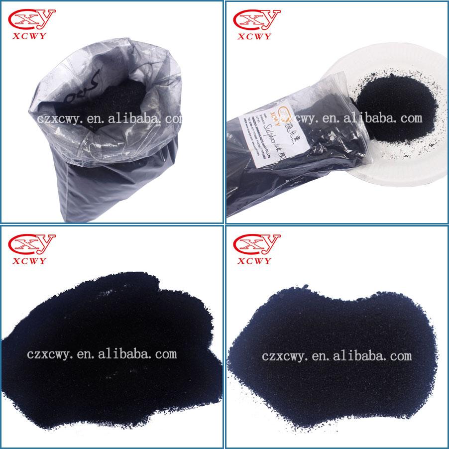 sulphur Black Br 200% 220% 240% Flashing Black Flakes or Granules
