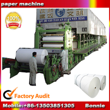 Small scale writing paper/ office copy paper/ cultural paper making machinery, paper notebook making machine