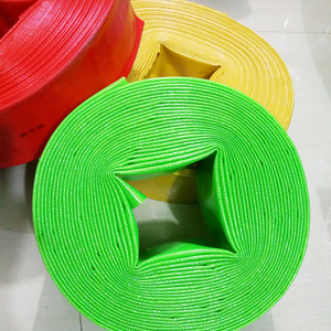 Agricultural irrigation plastic PVC water supply lay flat irrigation hose pipe