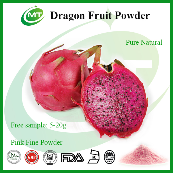 Organic High Quality Pink Pitaya Powder