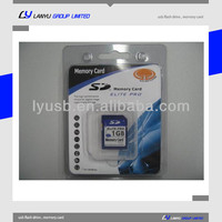 1gb sd memory card with blister packing