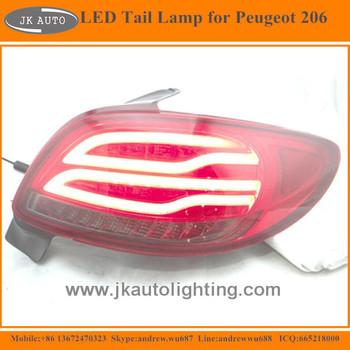Nieuwe Collectie Hoge Kwaliteit Led Achterlicht Voor Peugeot 206 Hot ...