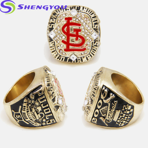 Wholesale Custom 3D Alphabet Ring Design Championship Jewelry Fashion Rings