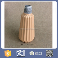 home & garden glazed color cheap ceramic stoneware vase, flower vase