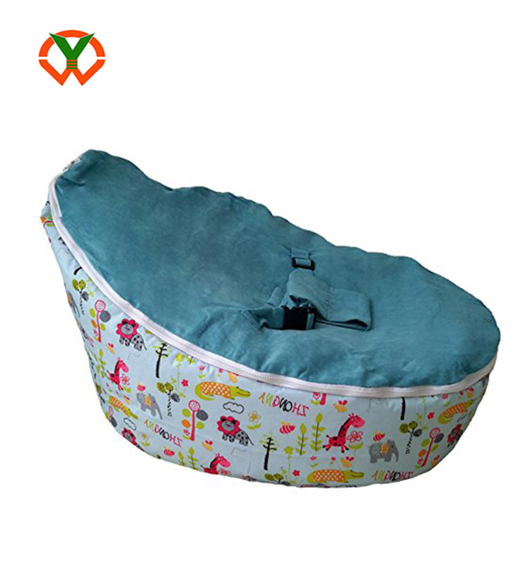 fashion adaptable lightweight portable infant seat lounger baby bean bag chair