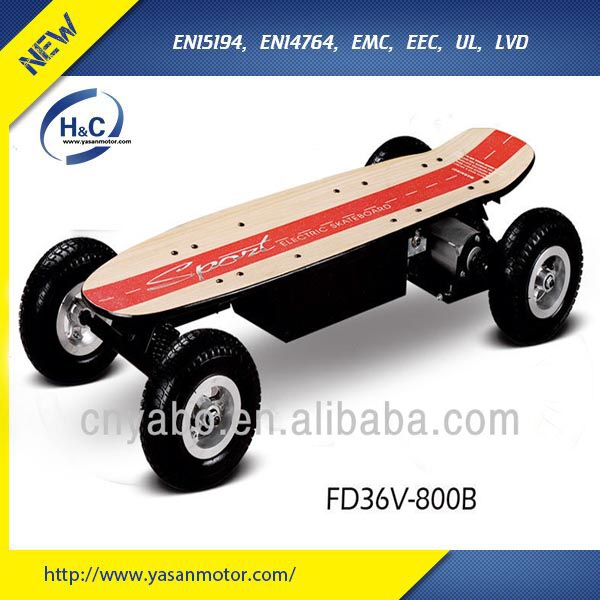Fashion & Cool 600W 36V Offroad E Skateboard for sale