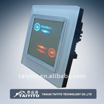 Taiyito Tdxe4401s Smart Home Automation System Touch Screen Dimmer ...