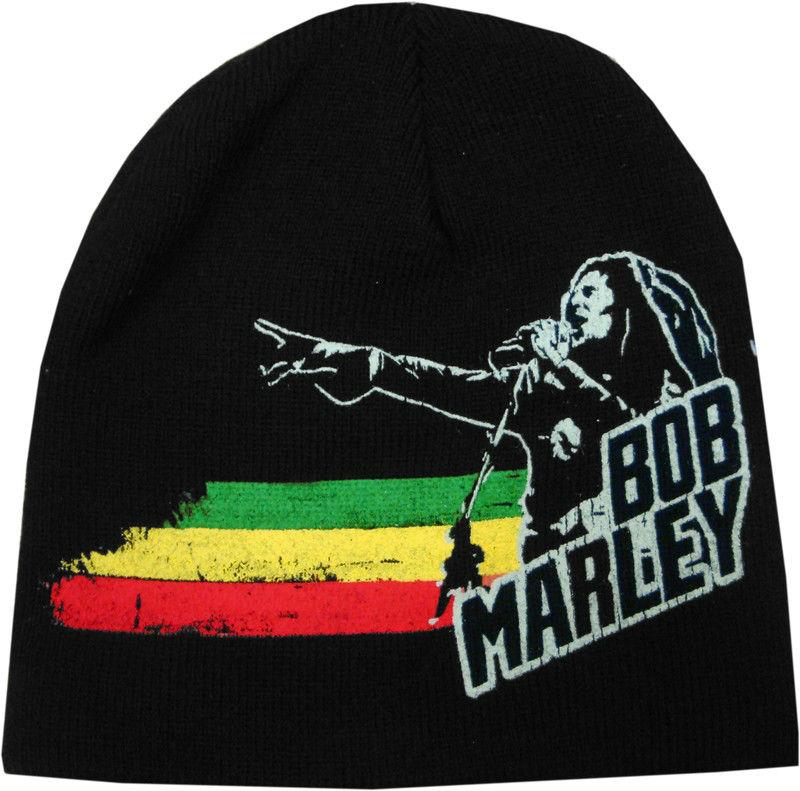 Bob Marley Rasta Point Skull Cap Beanie 02bf9ccb20f
