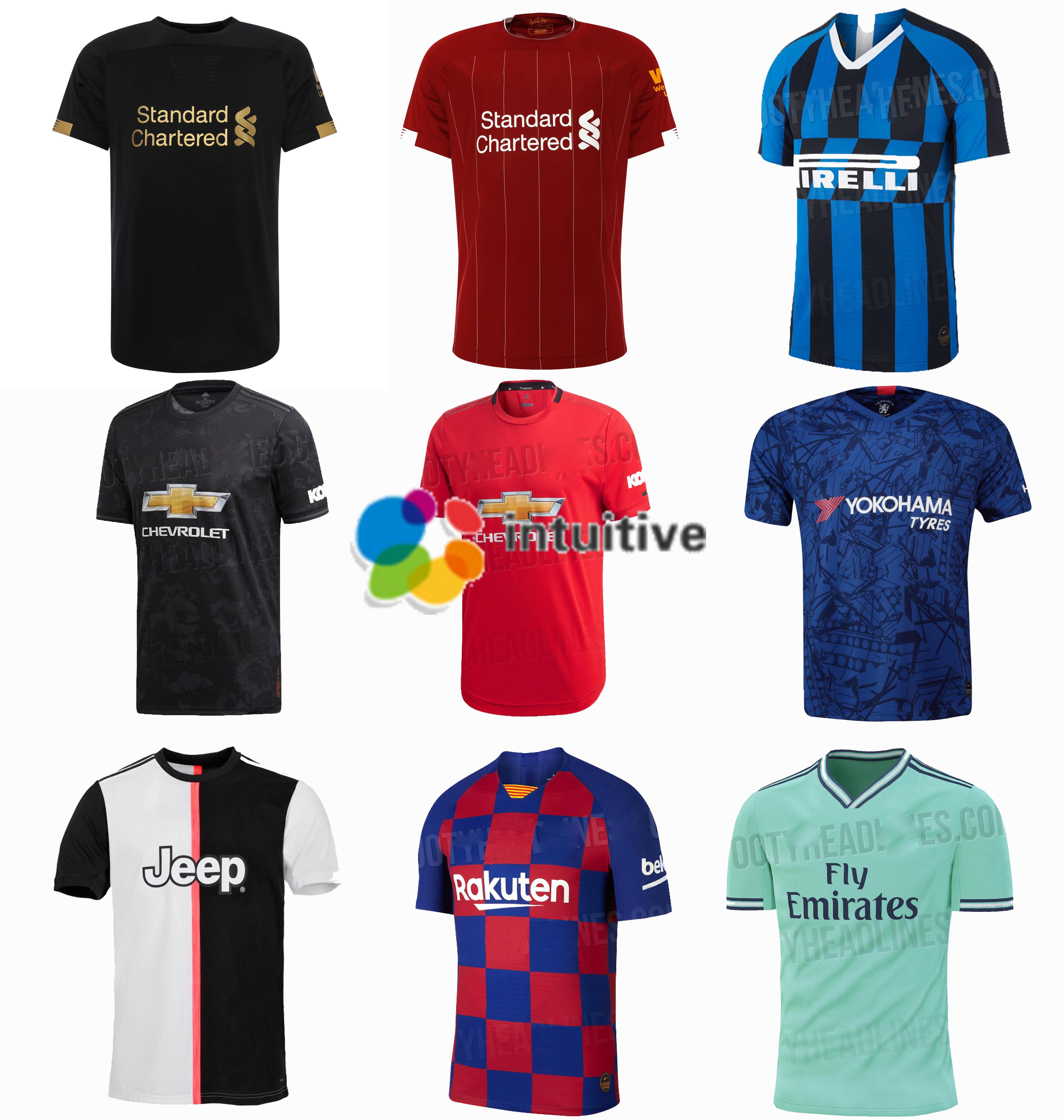 Wholesaler 2019/20 real united juventus Chelseea inter soccer wear neymar camisas de futebol jersey kit фото