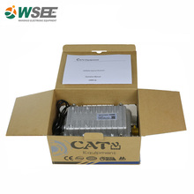 CATV outdoor 2 outputs cable receiver with AGC