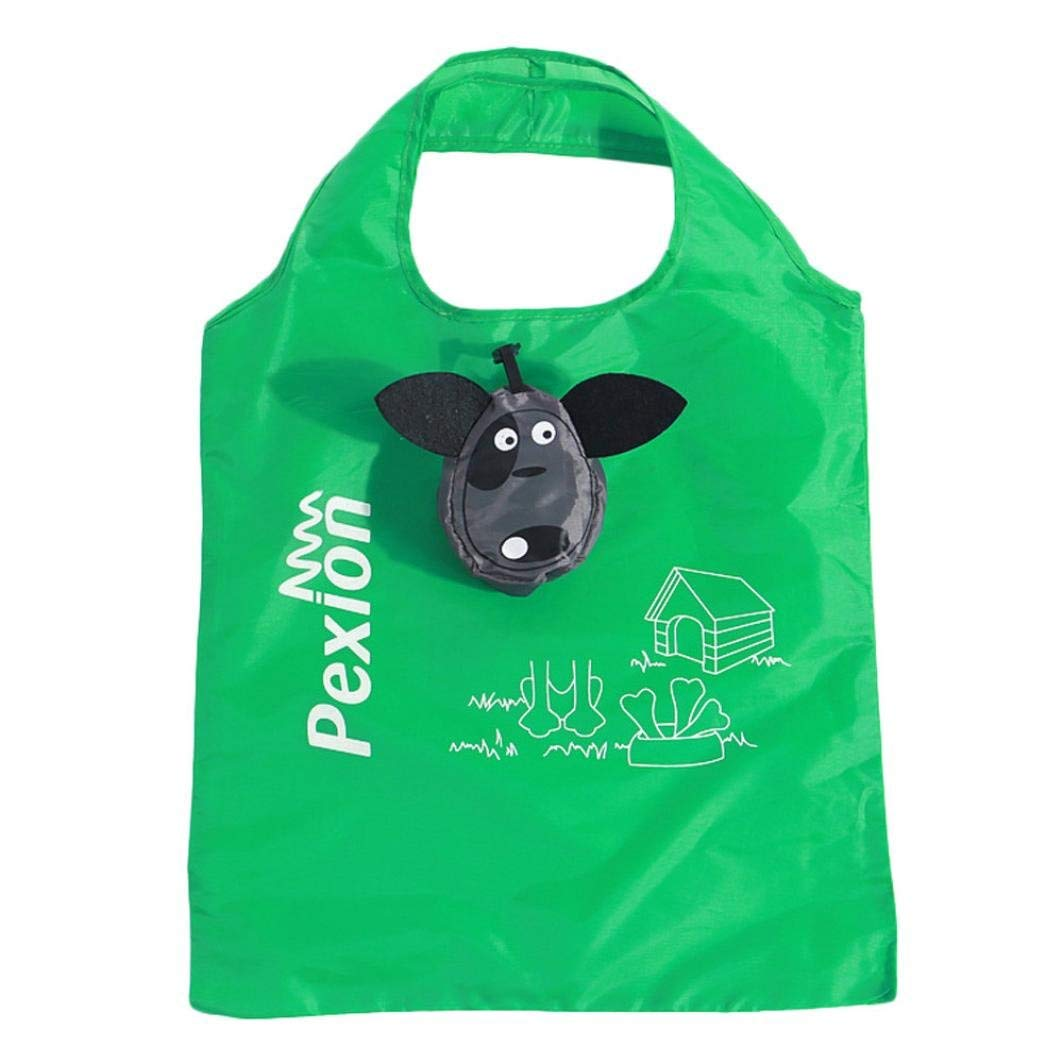 Sinwo Cartoon Animal Foldable Folding Shopping Tote Shopping Bag Reusable Eco Bag waterproof