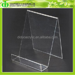 DDE-B164 ISO9001 Chinese Factory Wholesale SGS Test Cheap Acrylic Book Stand