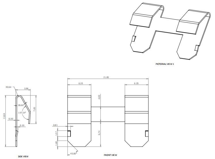 OEM สแตนเลสเหล็กสปริงคลิปคลิปเหล็กติดตั้งเอง k26 bistable แบนเหล็กสปริงราคาคลิปเหล็กสปริง