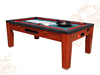 BISINI Multi-functional Air Hockey/Pool Table 7ft Spinning Dining Pool Table