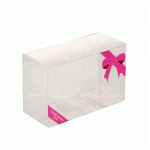 HDP Factory Custom Small PVC Plastic Box for Gift Package