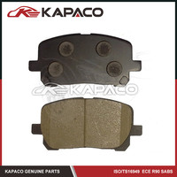 04465-02070 brake pad for cars for TOYOTA PICNIC (_CLM2_, _ACM2_) 2001/08-2009/11